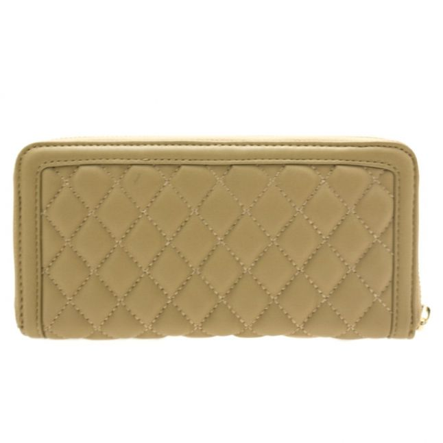 Womens Sand Quilted Purse