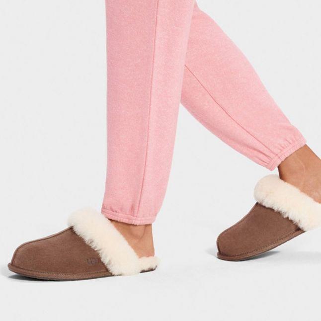 Scuffette II Espresso Womens Slippers