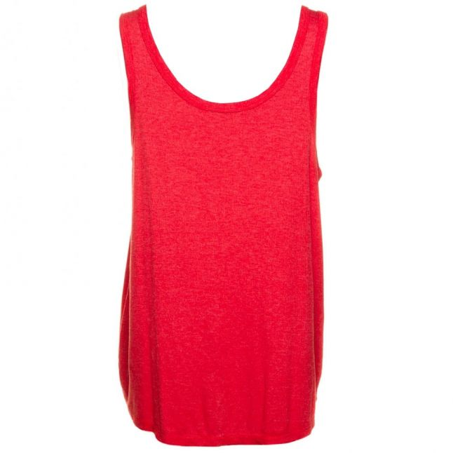 Womens Poppy Red Essentials Road Trip Tank Top