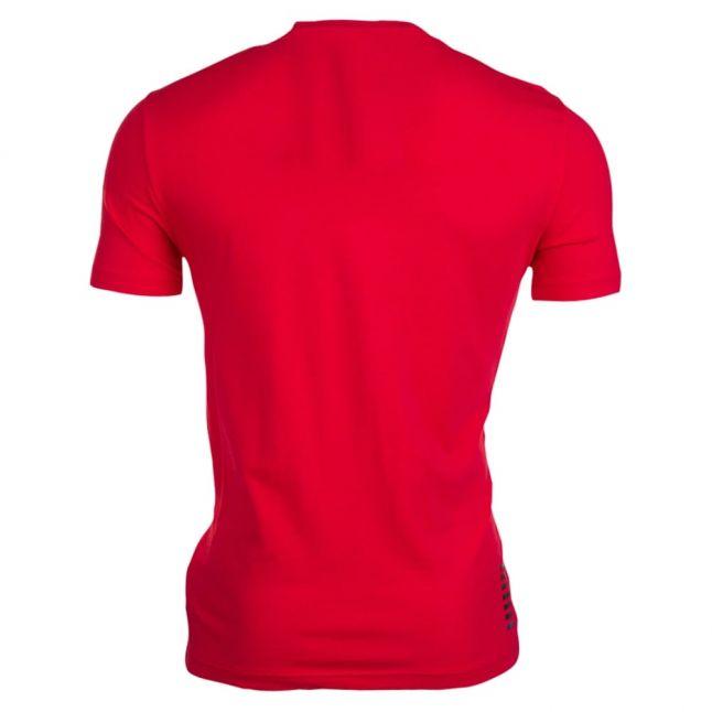 Mens Racing Red Train Core ID Tee Shirt
