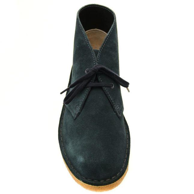Womens Midnight Blue Suede Desert Boot