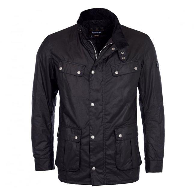 Mens Black Duke Waxed Jacket