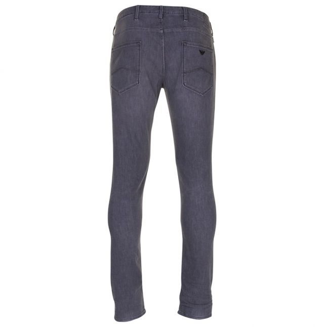 Mens Grey Wash J06 Slim Fit Jeans