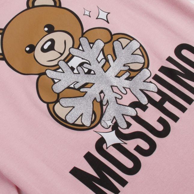 Girls Sugaer Rose Toy Snowflake L/s T Shirt
