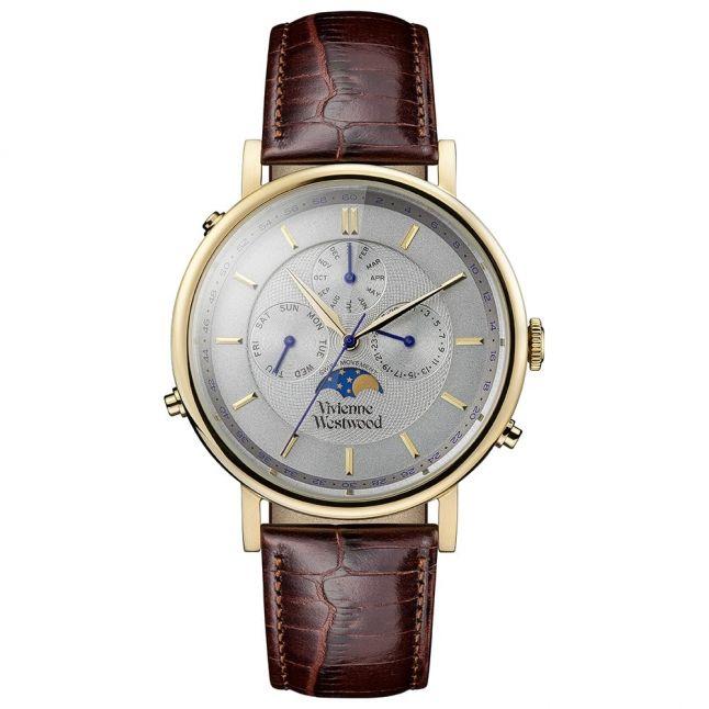 Mens Brown Portland Chrono Watch