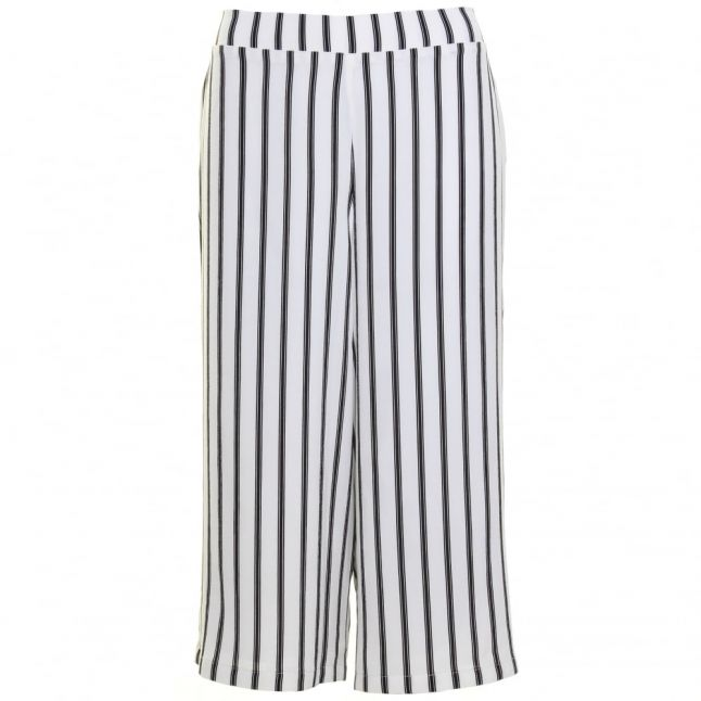 Womens Black & White Yaspine Culottes