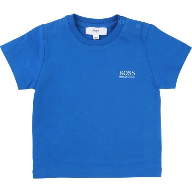 Baby Bright Turquoise Small Logo S/s Tee Shirt