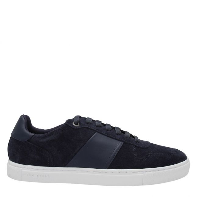Mens Navy Cobbol Trainers