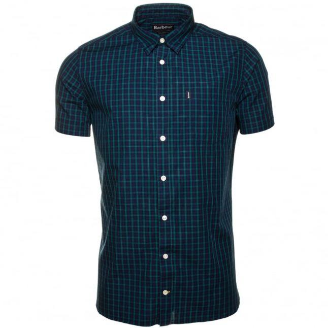 Lifestyle Mens Navy Allenhead S/s Shirt