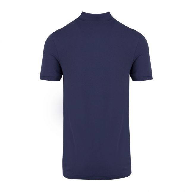 Casual Mens Navy Passenger Slim Fit S/s Polo Shirt