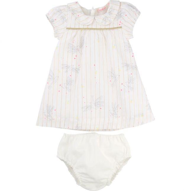 Baby White Bird Dress Set