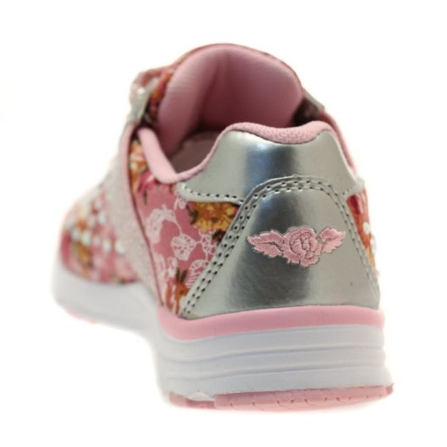 Girls Pink Primula 2 Trainers (26-35)