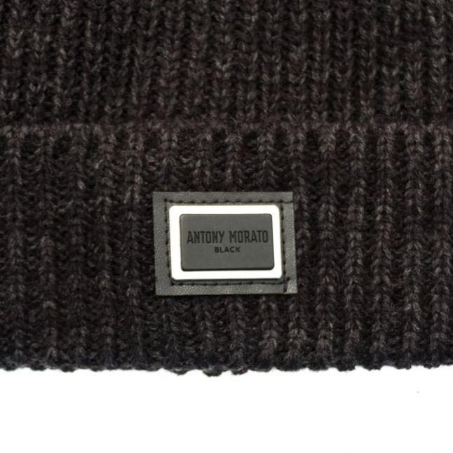 Mens Black Label Badge Hat