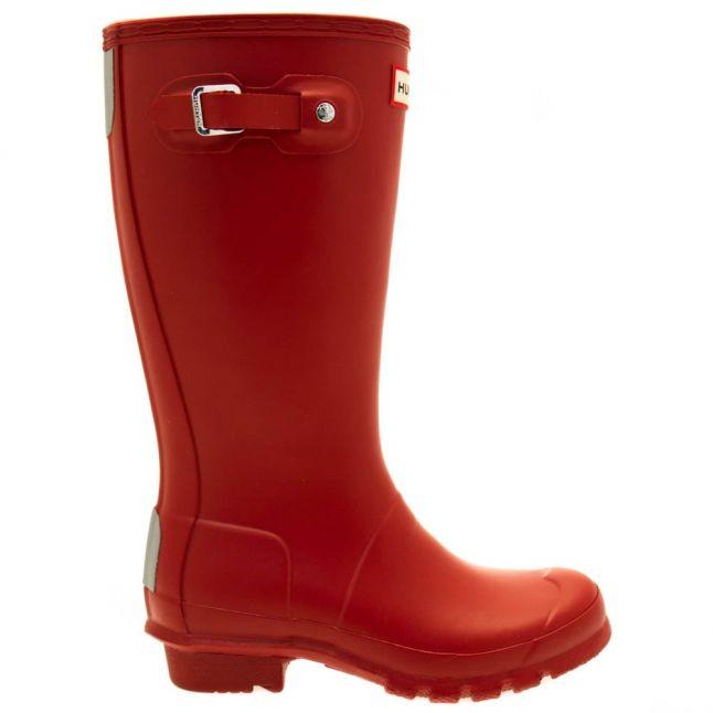 Kids Military Red Original Wellington Boots (12-5)
