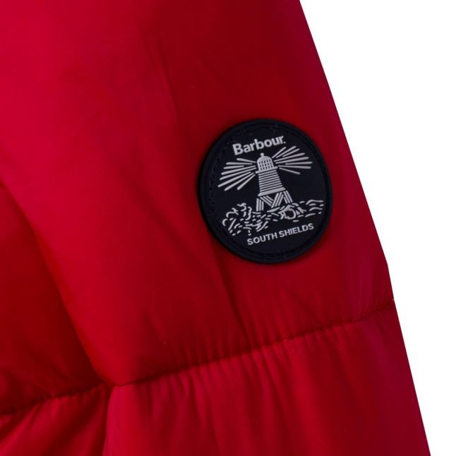 Girls Lighthouse Red Icefield Quilted Jacket