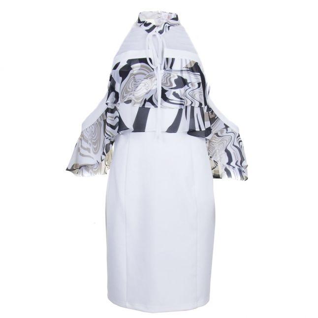 Womens Monoprint Twiggy Dress