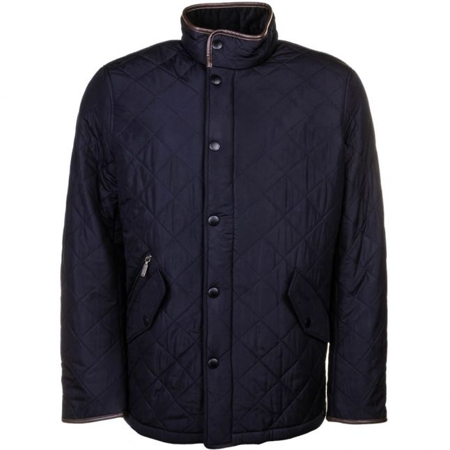 Lifestyle Mens Navy Powell Quilted Jacket