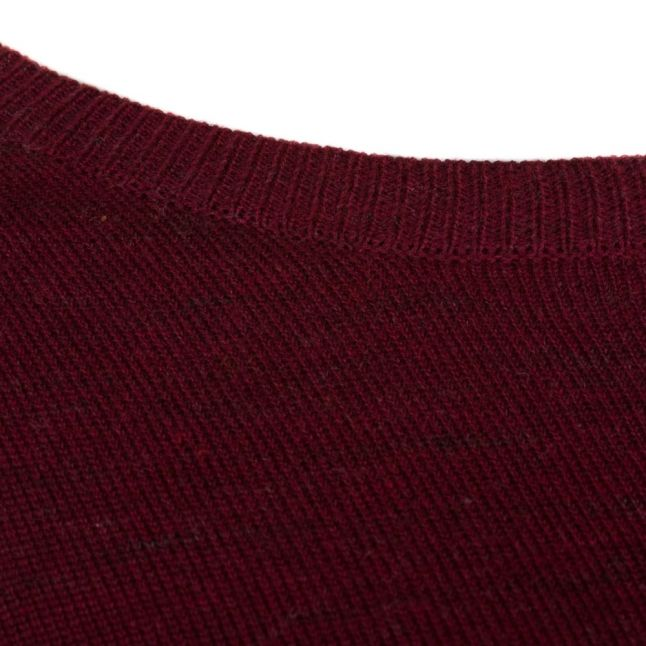 Womens Tawny Port Vilesly L/s Knitted Top