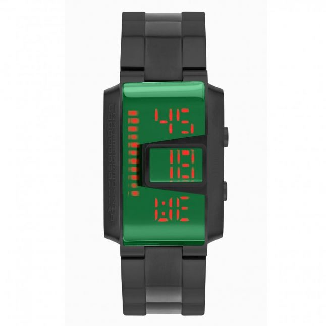 Mens Green Dial Slate MK4 Circuit Watch