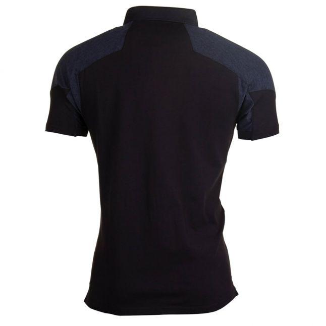 Mens Black Jackson S/s Polo Shirt