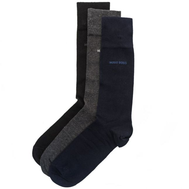 Mens Assorted 3 Pairs Socks Boxed Gift Set