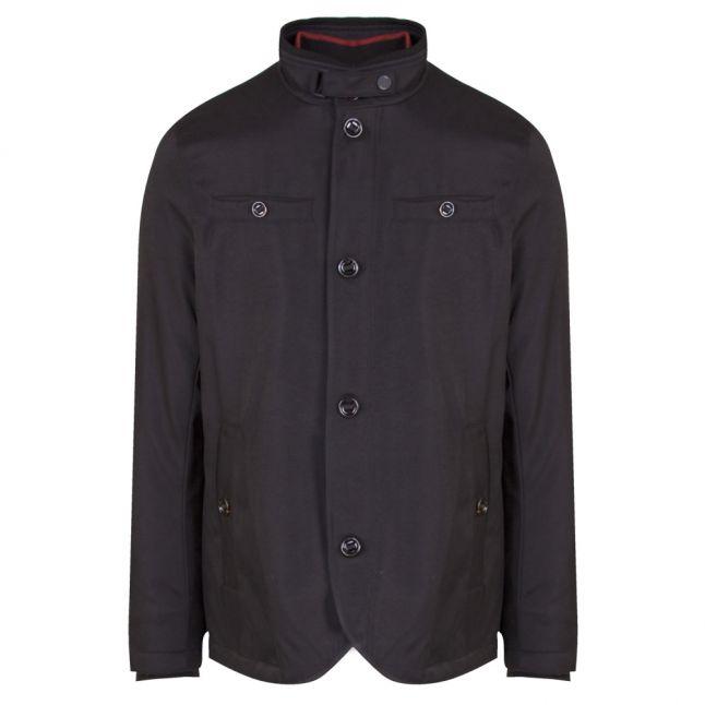 Mens Black Dral Wadded Jacket