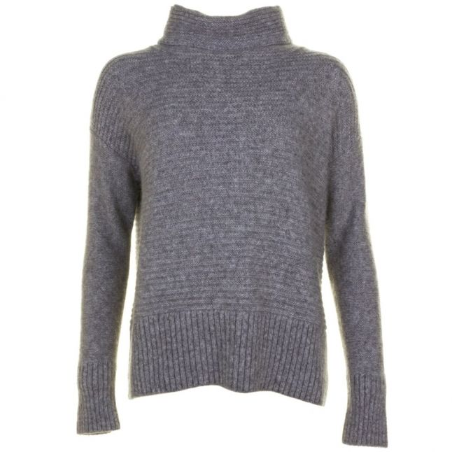 Womens Medium Grey Wilke Knitted Jumper
