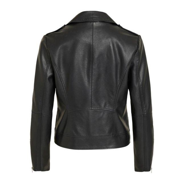 Womens Black Vicara Coated Jacket