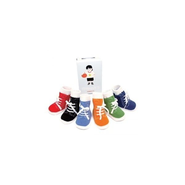 Multi Johnnys Toddler Socks (12-24)
