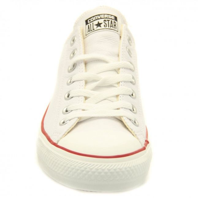 White Leather Chuck Taylor All Star Ox