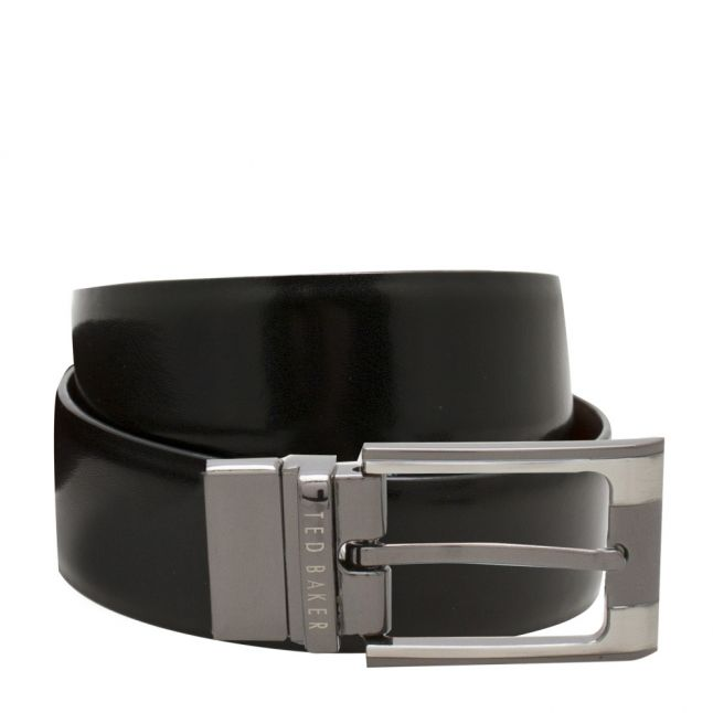 Ted Baker Mens Black & Brown Crafti Reversible Belt | Hurleys