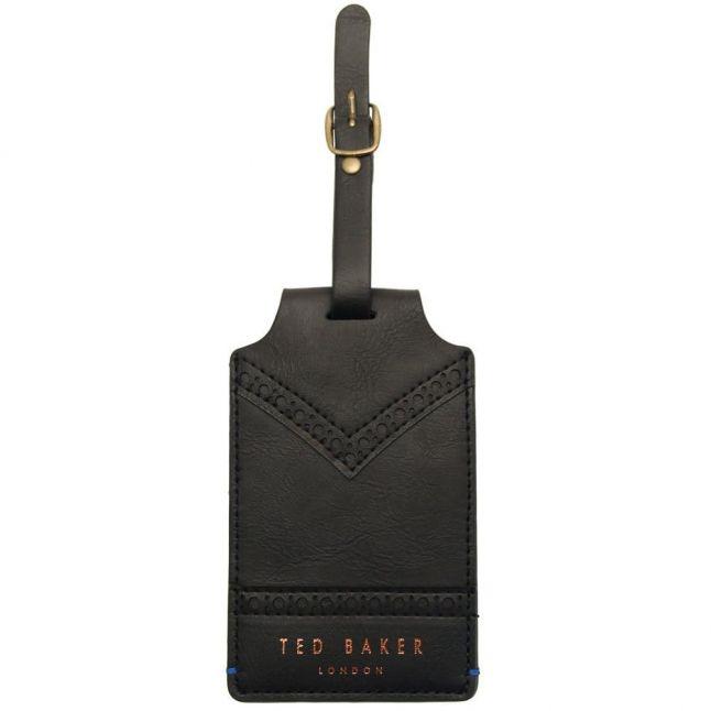 Black Brogue Luggage Tag