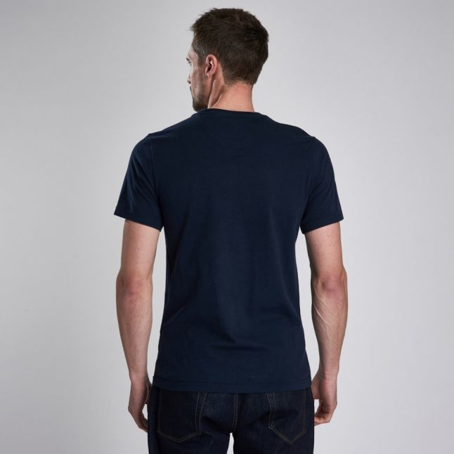 Mens Navy Archive S/s T Shirt
