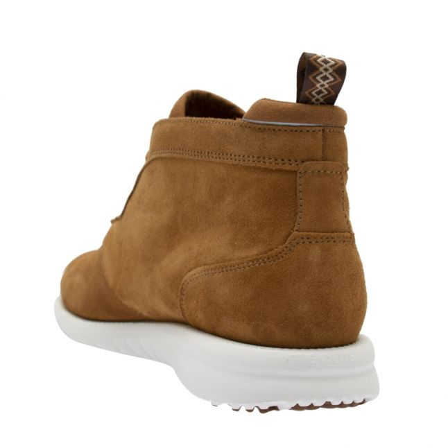 Mens Chestnut Union Chukka Suede Boots