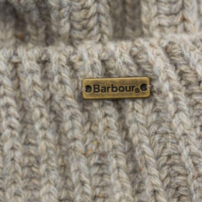 Lifestyle Mens Grey Mix Tyne Turnback Beanie Hat