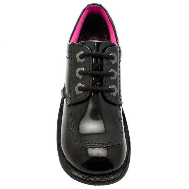Youth Black Patent Leather Kick Lo F (3-6)