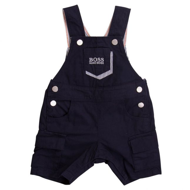 Boss Baby Boys Navy Dungarees