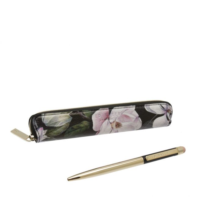 Womens Black Opal Touch Screen Pen