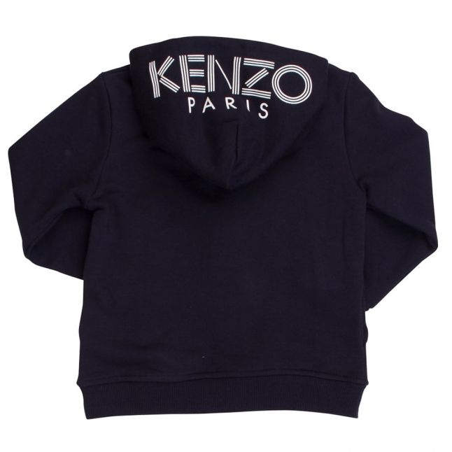 Boys Navy Balto Hooded Zip