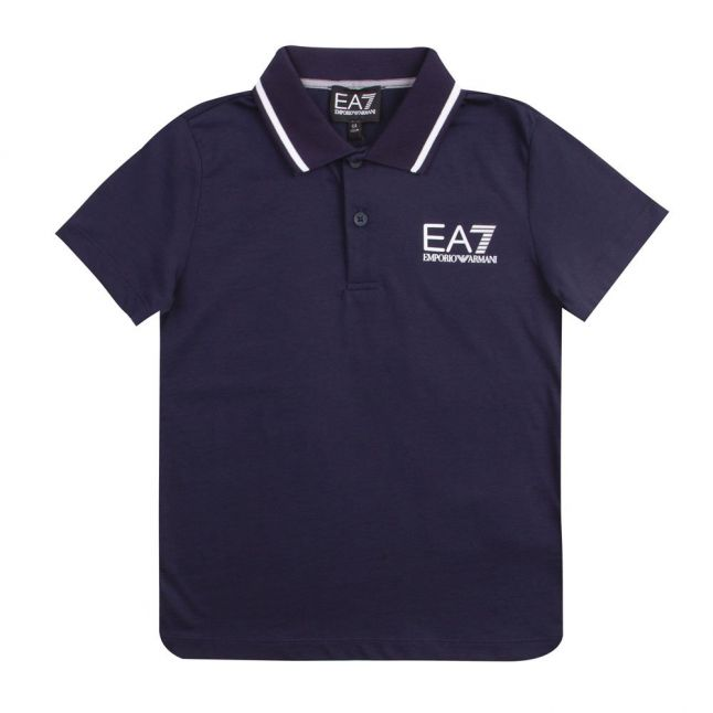 Boys Navy Core ID S/s Polo Shirt