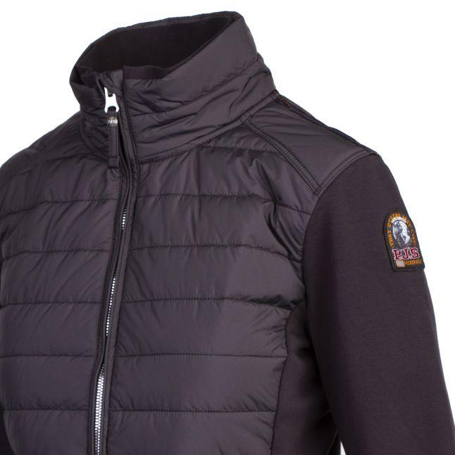 Womens Black Kae Hybrid Jacket