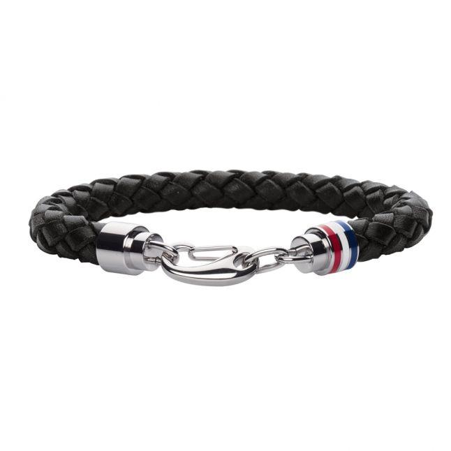 Mens Black Cord Bracelet