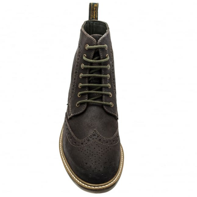 Lifestyle Mens Rustic Brown Belsay Brogue Derby Boots