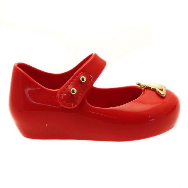 Vivienne Westwood Girls Red Patent Mini Ultragirl 15 Orb (4-9)