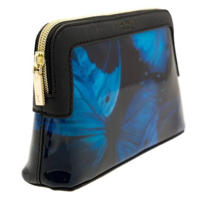 Womens Black Ceeloe Butterfly Collective Make Up Bag