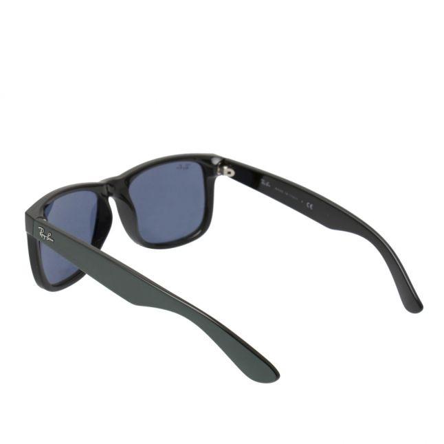 Mens Green Metallic On Black RB4165 Justin Sunglasses