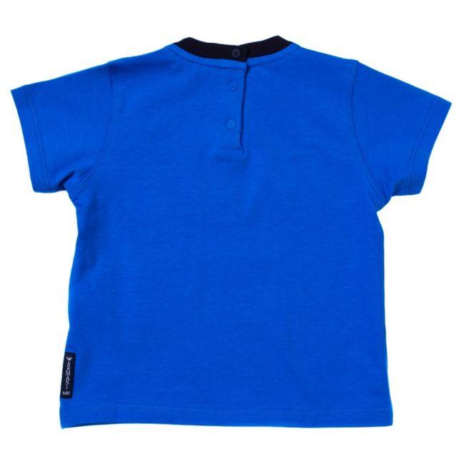 Baby Blue Logo S/s Tee Shirt