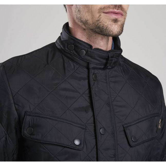 Mens Black Ariel Polarquilt Jacket