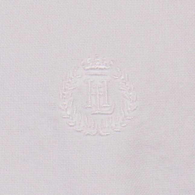 Bright White Henri Club Regular Fit S/s Shirt
