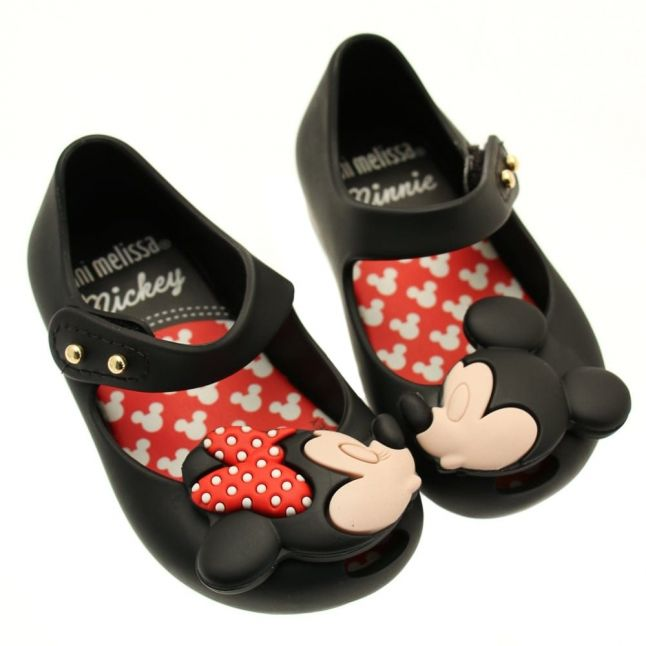 Walt Disney Girls Black Ultragirl Minnie Mouse 16 (4-9)